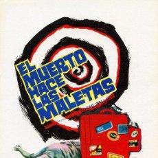 Cine: EL MUERTO HACE LAS MALETAS 1972 (GUIA ORIGINAL ESTRENO EN ESPAÑA) DEL DIRECTOR DE CULTO JESUS FRANCO. Lote 144662152
