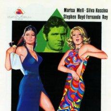 Cine: HISTORIA DE UNA TRAICION 1971 (GUIA ORIGINAL CON FOTOS ESTRENO ESPAÑA) MARISA MELL - SYLVA KOSCINA. Lote 128389220