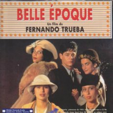 Cine: BELLE ÉPOQUE. GUÍA (8 PÁGINAS) . Lote 37962726