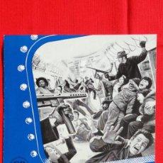 Cine: PELHAM 1-2-3, GUÍA 8 PÁG. CB FILMS, 1975, EXCTE. ESTADO, WALTER MATTHAU. Lote 38006871
