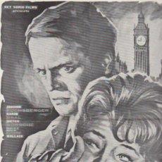 Cine: REY SORIA FILMS.1ª LISTA DE MATERIAL 1964.. Lote 38226927