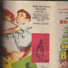 Cine: REY SORIA FILMS.3ª LISTA DE MATERIAL TEMPORADA 1962.. Lote 38226954