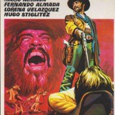 Cine: LOS DESALMADOS. GUÍA DE REY SORIA FILMS.. Lote 38829348