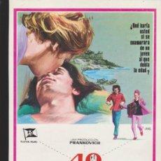 Cine: 40 QUILATES. GUÍA DE SUEVIA FILMS.. Lote 39248943