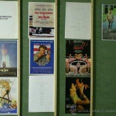 Cine: TP18 BARRY LEVINSON COLECCION 7 GUIAS ORIGINALES + 3 DOSSIER PRENSA . Lote 39300029
