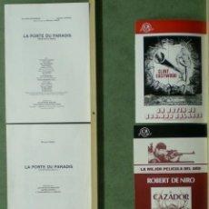 Cine: TP76 MICHAEL CIMINO COLECCION 4 GUIAS ORIGINALES + 2 DOSSIER . Lote 39433486
