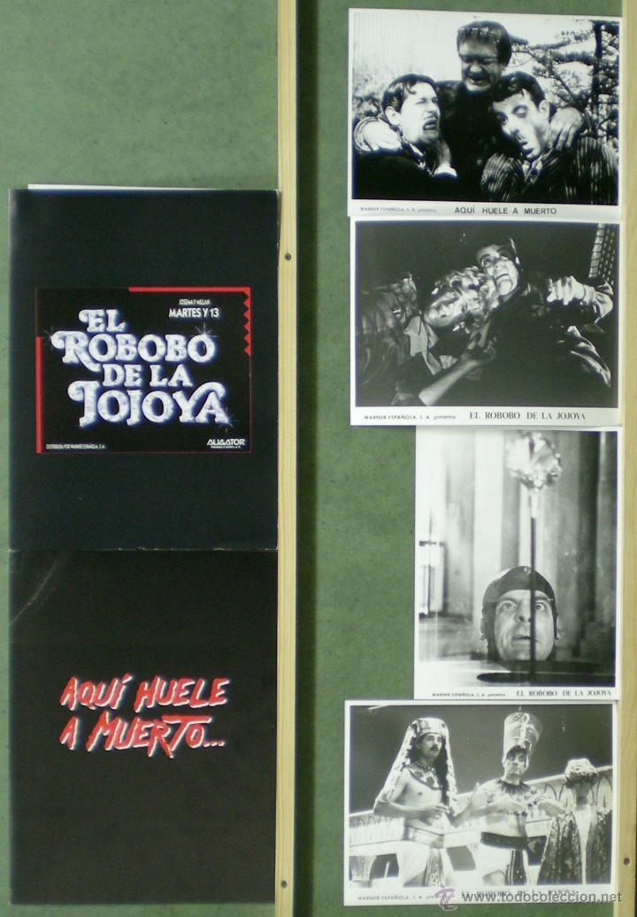 TP98 MARTES Y 13 COLECCION 2 DOSSIER + 4 FOTOS (Cine - Guías Publicitarias de Películas )