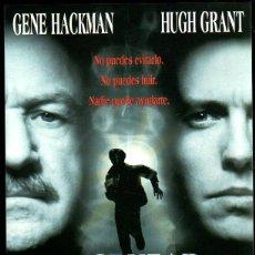 Cine: GUIA PUBLICITARIA DE LA PELICULA AL CRUZAR EL LIMITE. GENE HACKMAN. HUGH GRANT. Lote 39400579