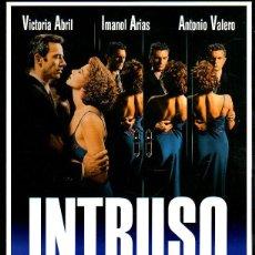 Cine: GUIA PUBLICITARIA DE CINE DE LA PELICULA INTRUSO. VICTORIA ABRIL. IMANOL ARIAS. Lote 41409885
