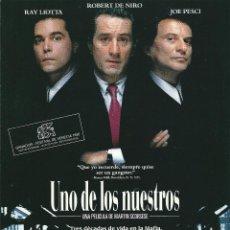 UNO DE LOS NUESTROS.-con Robert de Niro Ray Liotta y Joe Pesci