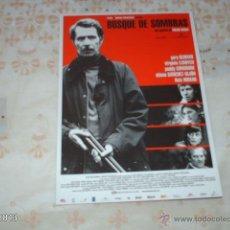 Cine: GUÍA DE LA PELÍCULA BOSQUE DE SOMBRAS, POR GARY OLDMAN. Lote 39517361