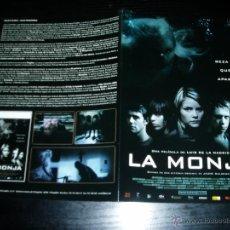 Cine: LA MONJA. GUÍA PUBLICITARIA DOBLE ORIGINAL DE LA PELÍCULA. Lote 48436166