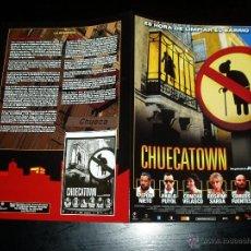 Cine: CHUECATOWN. GUÍA PUBLICITARIA DOBLE ORIGINAL DE LA PELÍCULA. Lote 60960877