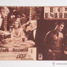 Cinéma: TARJETA PROPAGANDA DE LA PELICULA DON ENREDOS DE FOX. Lote 39662873