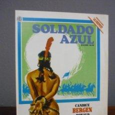 Cine: GUÍA PUBLICITARIA ORIGINAL DE LA PELÍCULA SOLDADO AZUL. Lote 39947528