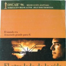 Cine: EL OTRO LADO DE LA VIDA - GUIA ORIGINAL ESTRENO - BILLY BOB THORNTON, DWIGHT YOAKAM, J.T. WALSH. Lote 39722463