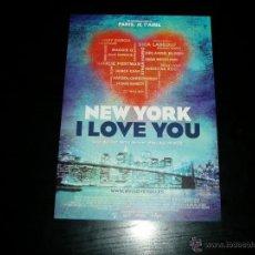 Cine: NEW YORK I LOVE YOU. GUIA PUBLICITARIA SENCILLA.ORIGINAL.MAGNIFICO ESTADO.NUEVO.. Lote 277190328