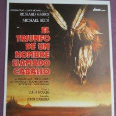 Cine: EL TRIUNFO DE UN HOMBRE LLAMADO CABALLO. Lote 39787147