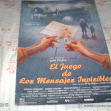 Cine: GUÍA DE LA PELÍCULA EL JUEGO DE LOS MENSAJES INVISIBLES, POR ANTONIO FERRANDIS. Lote 39806074