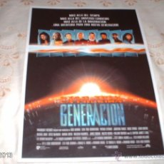 Cine: GUÍA DE LA PELÍCULA STAR TREK, LA PRÓXIMA GENERACIÓN. Lote 39806143
