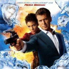 Cine: 007 MUERE OTRO DIA 2002 (GUIA ORIGINAL CON FOTOS 4 PAGINAS ) PIERCE BROSNAN JAMES BOND 007. Lote 39951289