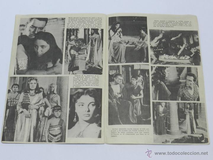 Cine: REVISTA CINECOLOR, ARGUMENTO DE LA PELICULA, TIERRA DE FARAONES, WB, FERMA, 16 PAG. MIDE 24 X 16,5 C - Foto 2 - 39981266