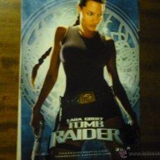 Cinéma: GUIA DOBLE TOMB RAIDER .- LARA CROFT. Lote 40073922