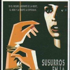 Cine: GUIA PUBLICITARIA DE CINE DE LA PELICULA SUSURROS EN LA OSCURIDAD. ANNABELLA SCIORRA. Lote 40199743