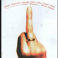 Cine: GUIA PUBLICITARIA DE CINE DE LA PELICULA NOVIOS. JUANJO PUIGCORBE, CANDELA PEÑA. Lote 40200554