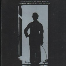 Cine: GUIA PUBLICITARIA DE CINE DE LA PELICULA CHAPLIN. CHARLIE CHAPLIN, GERALDINE CHAPLIN. Lote 40213556