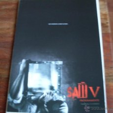 Cine: SAW V ( TOBIN BELL ) TERROR 2008. Lote 195427737
