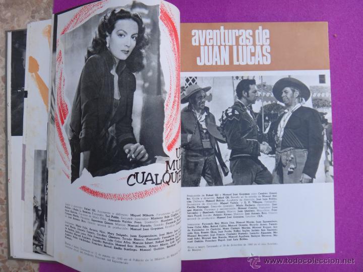 Cine: ESPECTACULAR LIBRO, GUIA , GUIAS CINE , CESAREO GONZALEZ, SUEVIA FILMS, 1940 1965 , VER FOTOS - Foto 5 - 40367554