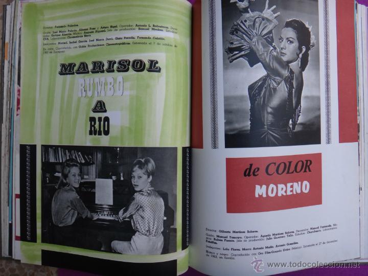 Cine: ESPECTACULAR LIBRO, GUIA , GUIAS CINE , CESAREO GONZALEZ, SUEVIA FILMS, 1940 1965 , VER FOTOS - Foto 17 - 40367554
