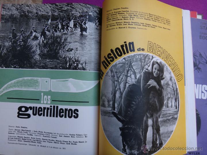 Cine: ESPECTACULAR LIBRO, GUIA , GUIAS CINE , CESAREO GONZALEZ, SUEVIA FILMS, 1940 1965 , VER FOTOS - Foto 21 - 40367554