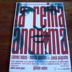Cine: LA REINA ANONIMA -- (CARMEN MAURA-MARISA PAREDES) DIR. GONZALO SUAREZ GUIA DE LUJO. Lote 40389137