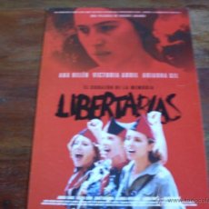 Cinéma: LIBERTARIAS -- ( ANA BELEN, VICTORIA ABRIL, MIGUEL BOSE) DIR. VICENTE ARANDA. Lote 40395967