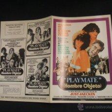 Cine: GUIA PUBLICITARIA DE LA PELICULA PLAYMATE (HOMBRE OBJETO) - . Lote 40444132