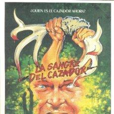 Cinéma: LA SANGRE DEL CAZADOR, SAMUEL BOTTOMS. Lote 40472217