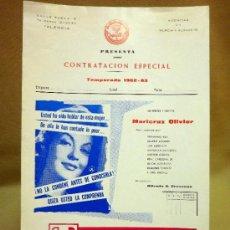 Cine: CARTEL DE CINE, TERESA, DISTRIBUIDORA COQUILLA, 32 X 22 CM. Lote 40584440