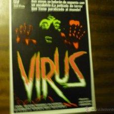 Cine: GUIA DOBLE TERROR VIRUS.- JOHN SAXON. Lote 41252467