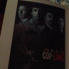 Cine: 'COP LAND', CON ROBERT DE NIRO Y SYLVESTER STALLONE. GUÍA DE CINE.. Lote 41265345