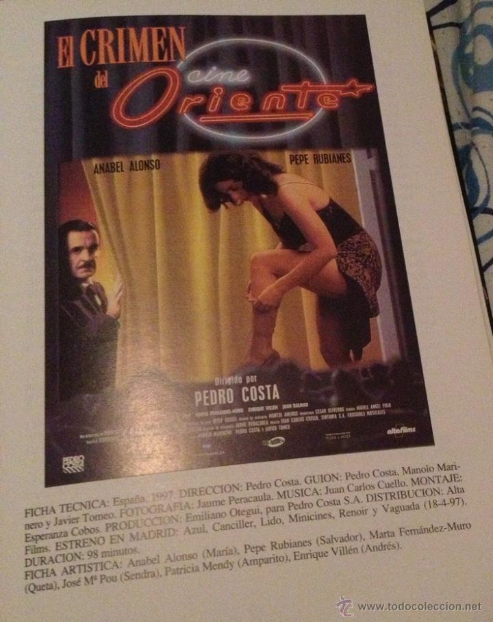 El Crimen Del Cine Oriente Con Pepe Rubianes Kaufen