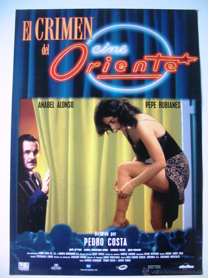 El Crimen Del Cine Oriente Guia Original Estr Sold Through
