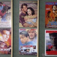 Cine: G4943 PATRICK SWAYZE COLECCION 16 GUIAS ORIGINALES ESPAÑOLAS +. Lote 42406833