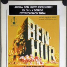 Cinema - G4968 BEN HUR CHARLTON HESTON WILLIAM WYLER GUIA REPO 70 MGM - 166991336