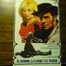 Cine: GUIA EL DEMONIO, LA CARNE Y EL PERDON - DIRK BOGARDE. Lote 43029220