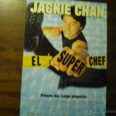 Cine: GUIA EL SUPER CHEF.--JACKIE CHAN. Lote 43151493