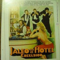 Cine: GUIA 4 PAG. JALEO EN EL HOTEL EXCELSIOR.-ADRIANO CELENTANO. Lote 43230876