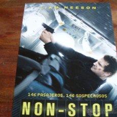 Cine: NON - STOP (SIN ESCALAS) - LIAM NEESON Y LUPITA NYONG'O. Lote 148227489