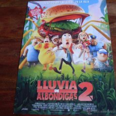Cine: LLUVIA DE ALBONDIGAS 2 - ANIMACION - GUIA ORIGINAL COLUMBIA AÑO 2013. Lote 43418887